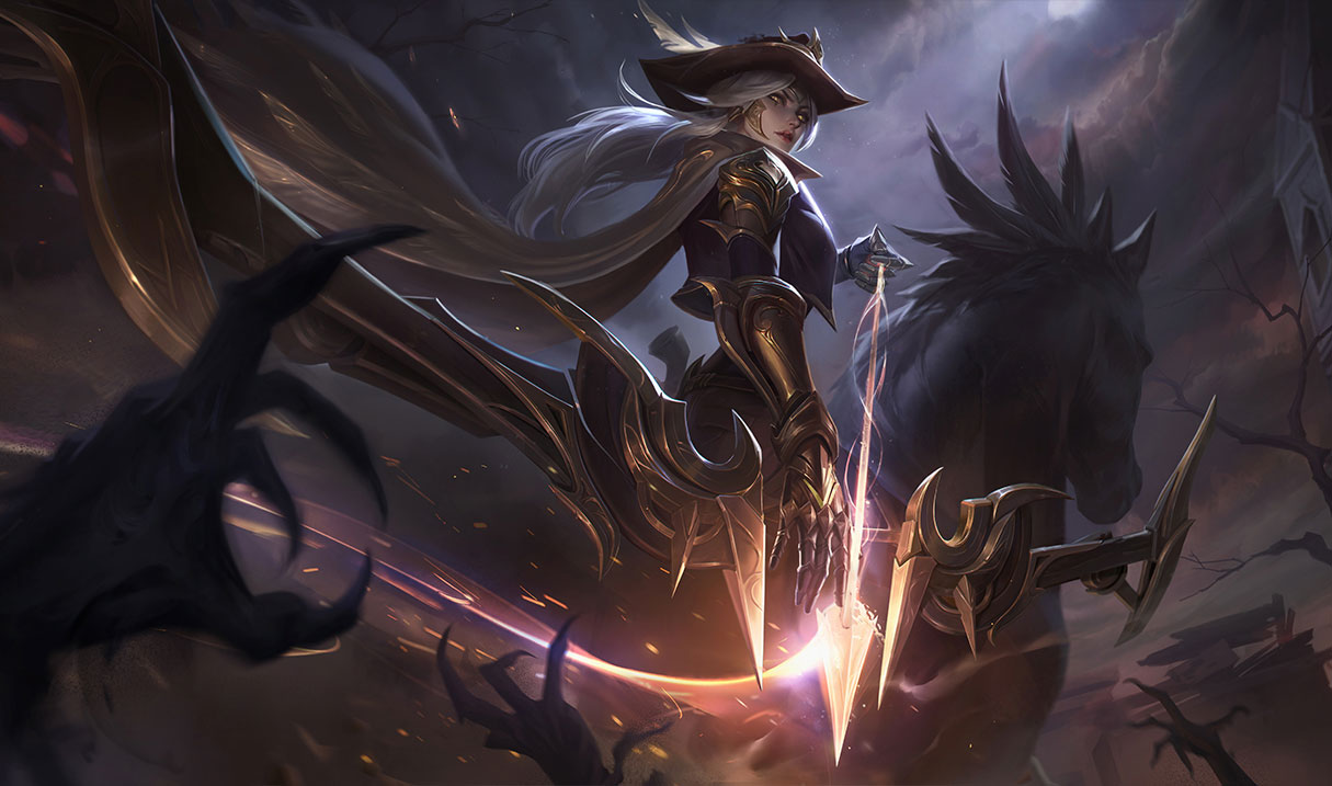 Meta marksman Ashe is in the firing line for LoL Patch 10.18.