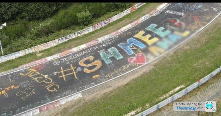 Shmee150 Graffiti Nurburgring