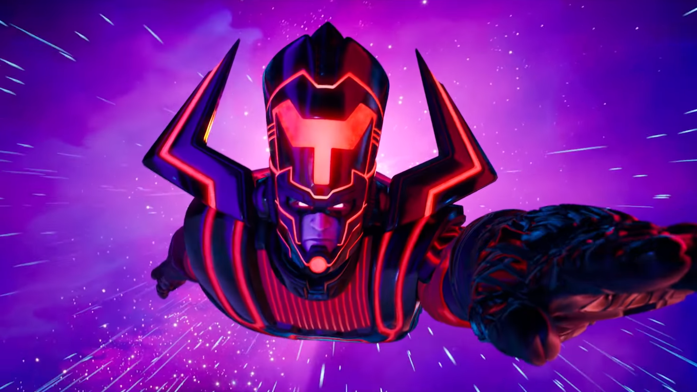 Marvel villain Galactus is on his way to destroy the Fortnite island in Season 4.