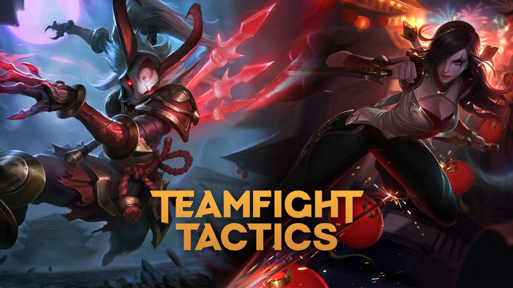 Blood Moon Kalista and Warring Kingdoms Katarina in TFT Fates