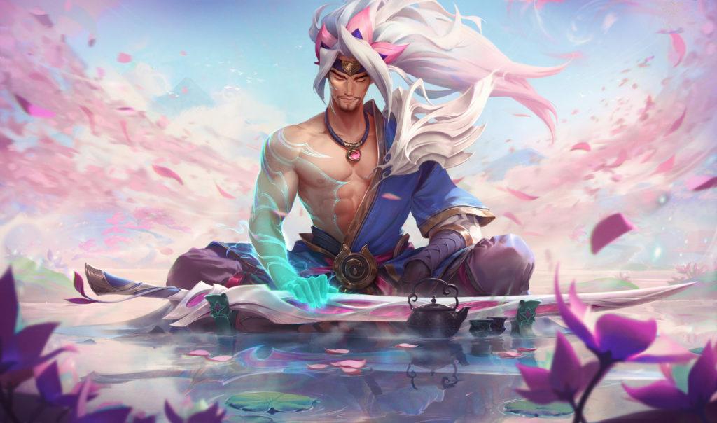 Spirit Blossom Yasuo in TFT Fates