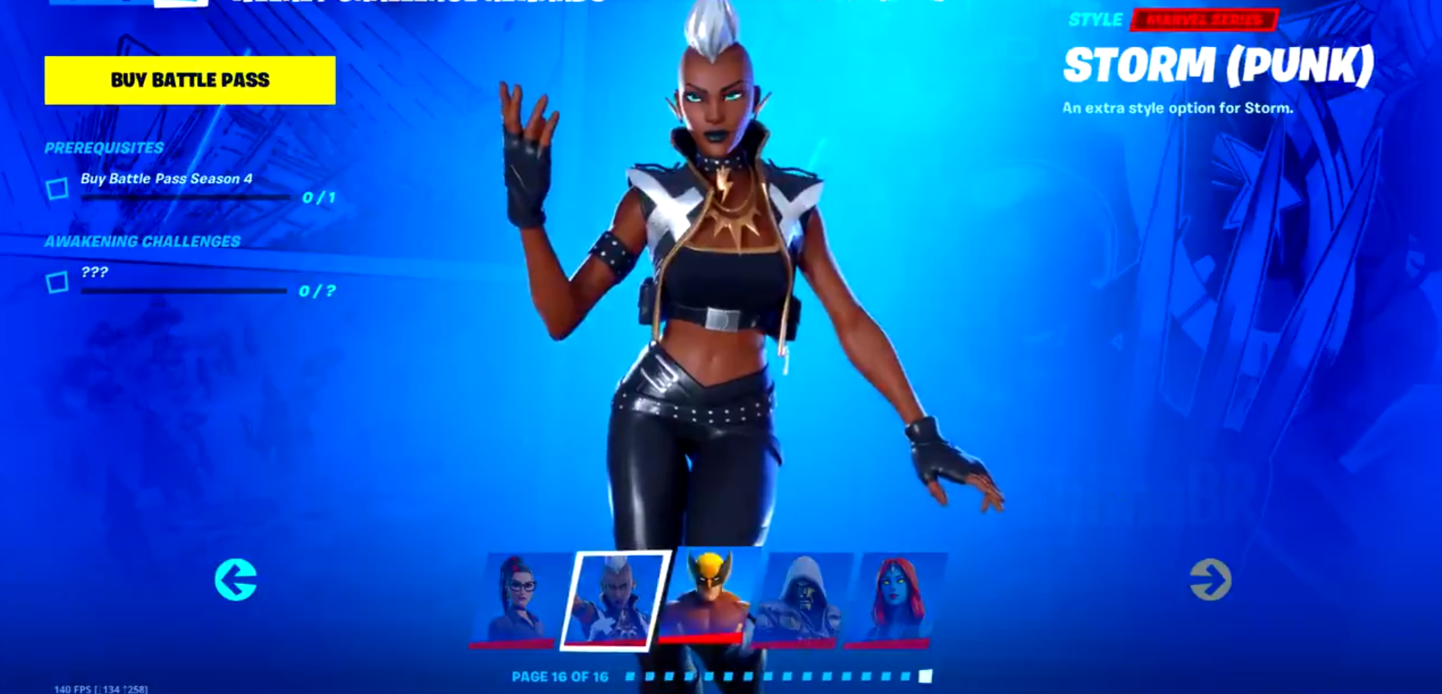 Fortnite Season 4 Nexus War Battle Pass