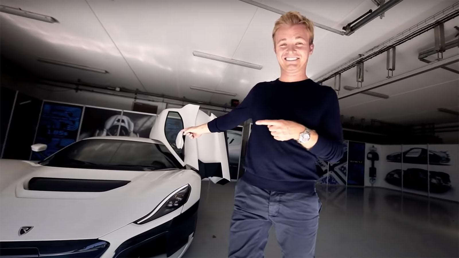 Nico Rosberg Rimac C_Two