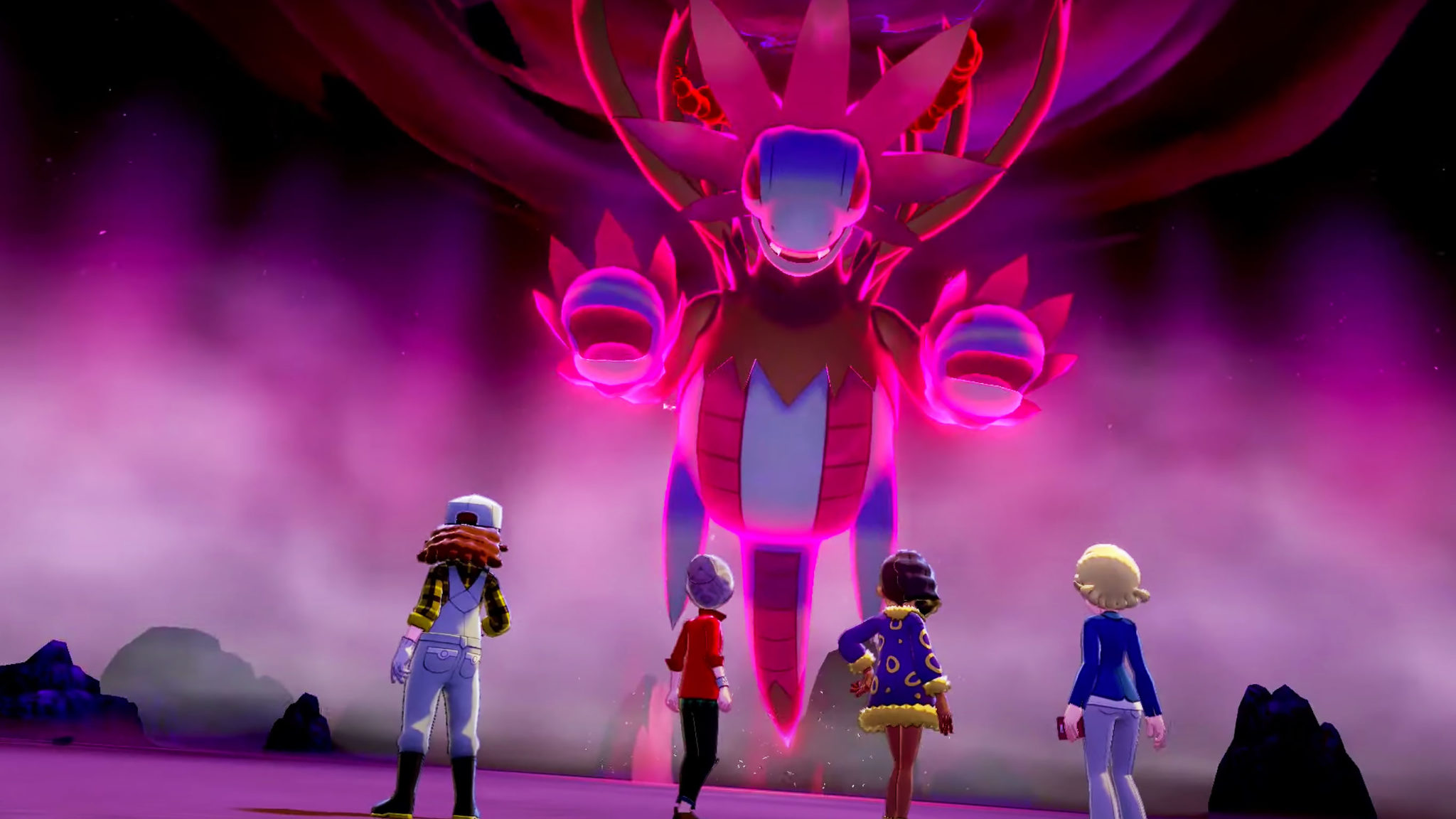 Hydreigon max raid pokemon sword shield