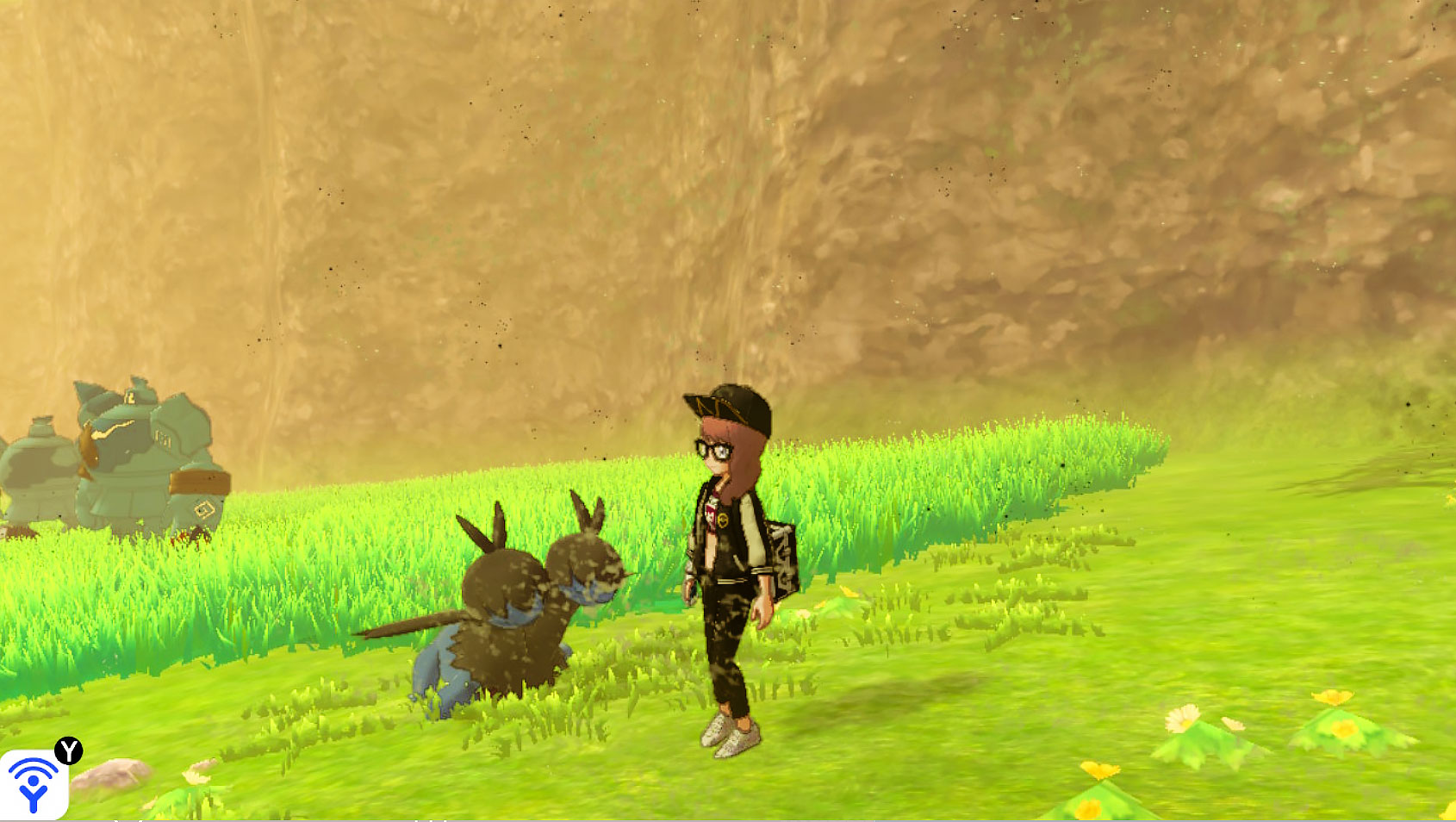 Hydreigon in the wild pokemon sword shield