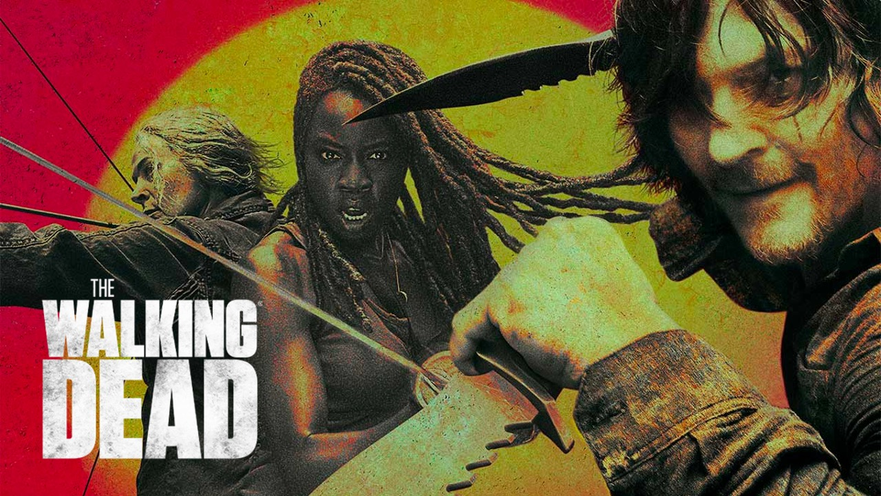 Walking Dead AMC poster for Daryl Micchone