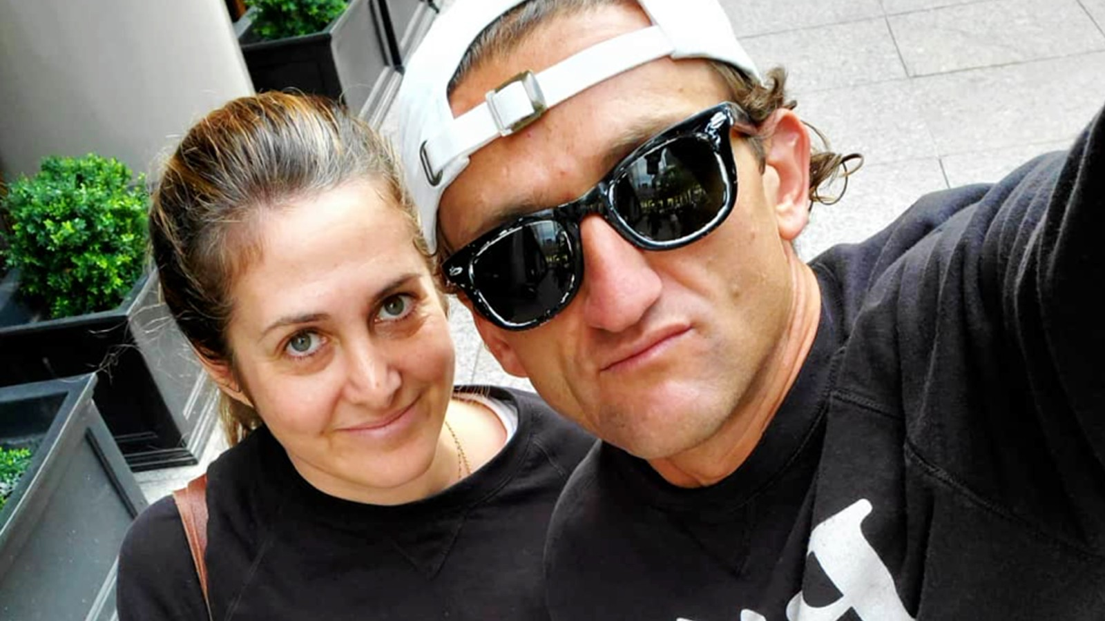 Casey Neistat and his wife Candice