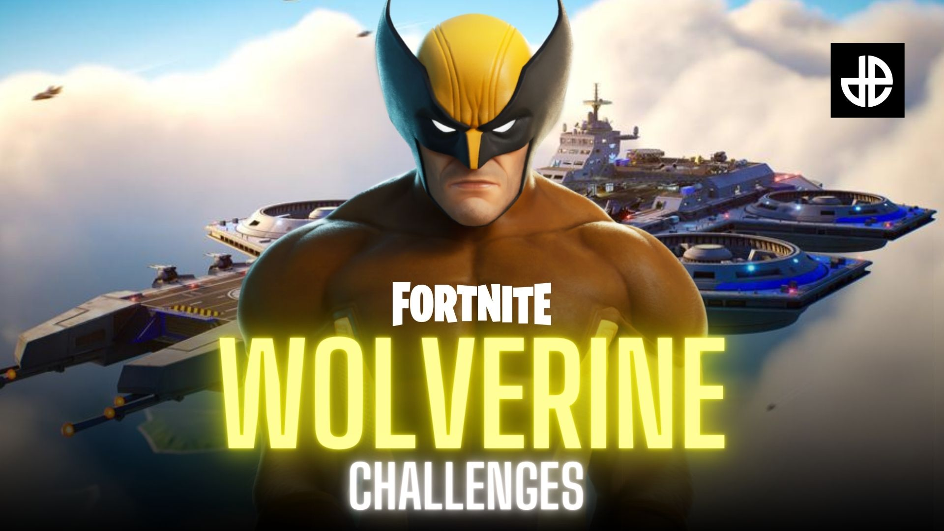 Wolverine challenges in Fortnite Season 4