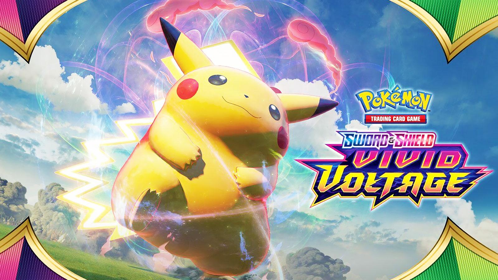 pokemon vivid voltage fat pikachu