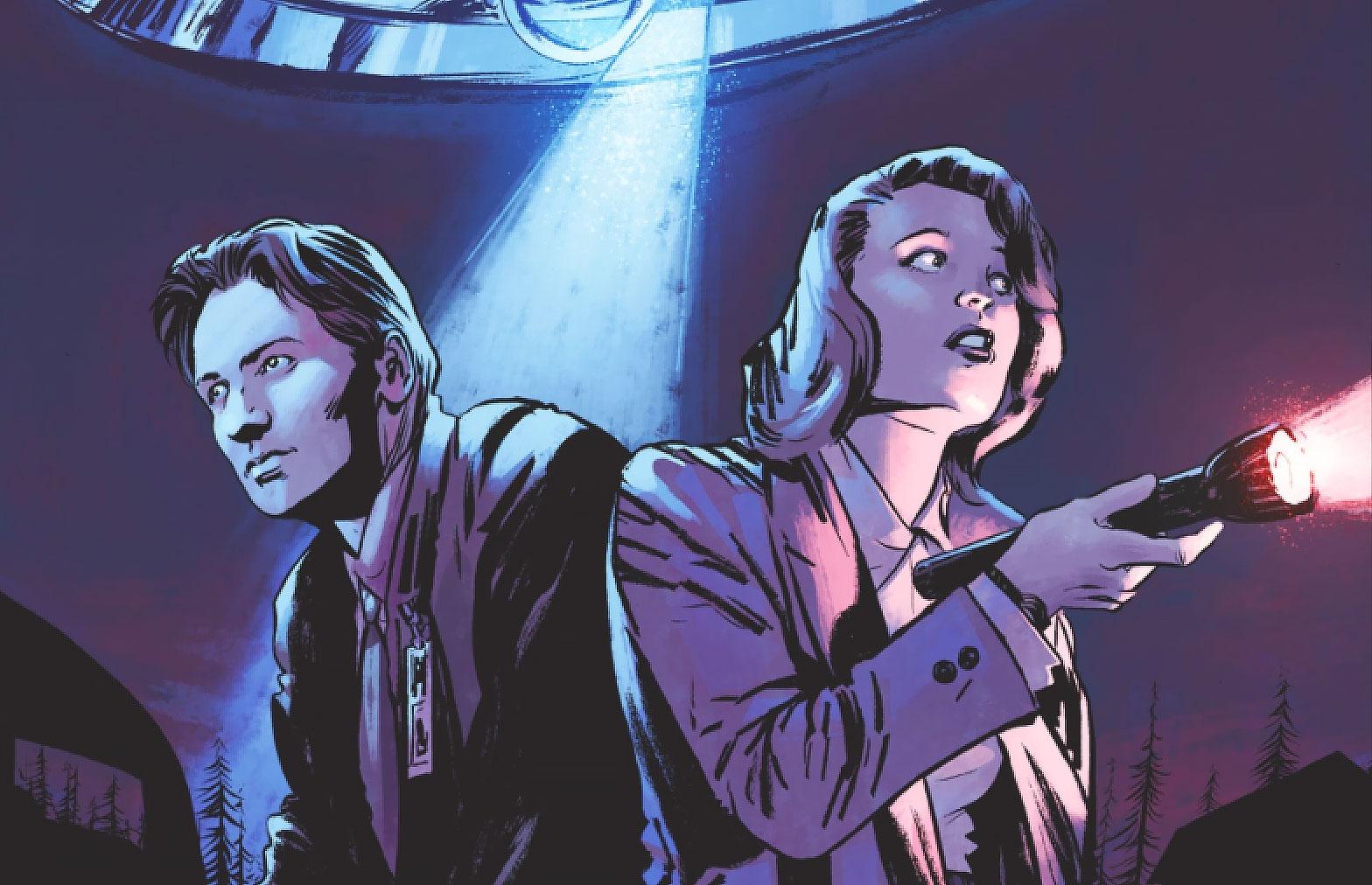 x-files comic
