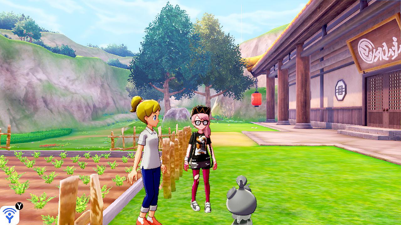 pokemon isle of armor cherry seller