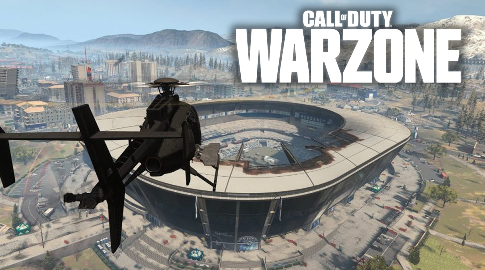 Call of Duty Warzone Stadium
