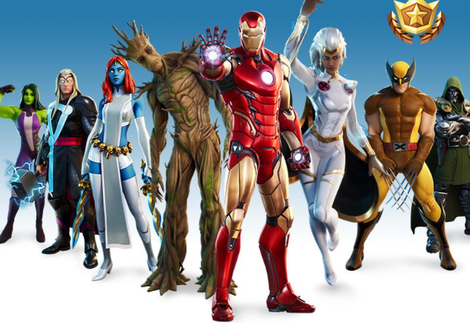 Fortnite Season 4 Marvel skins