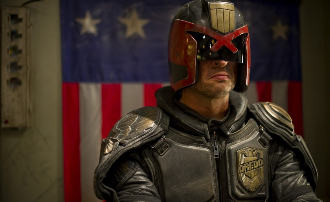 Karl Urban first played the stoic Judge Dredd in a single movie back in 2012.