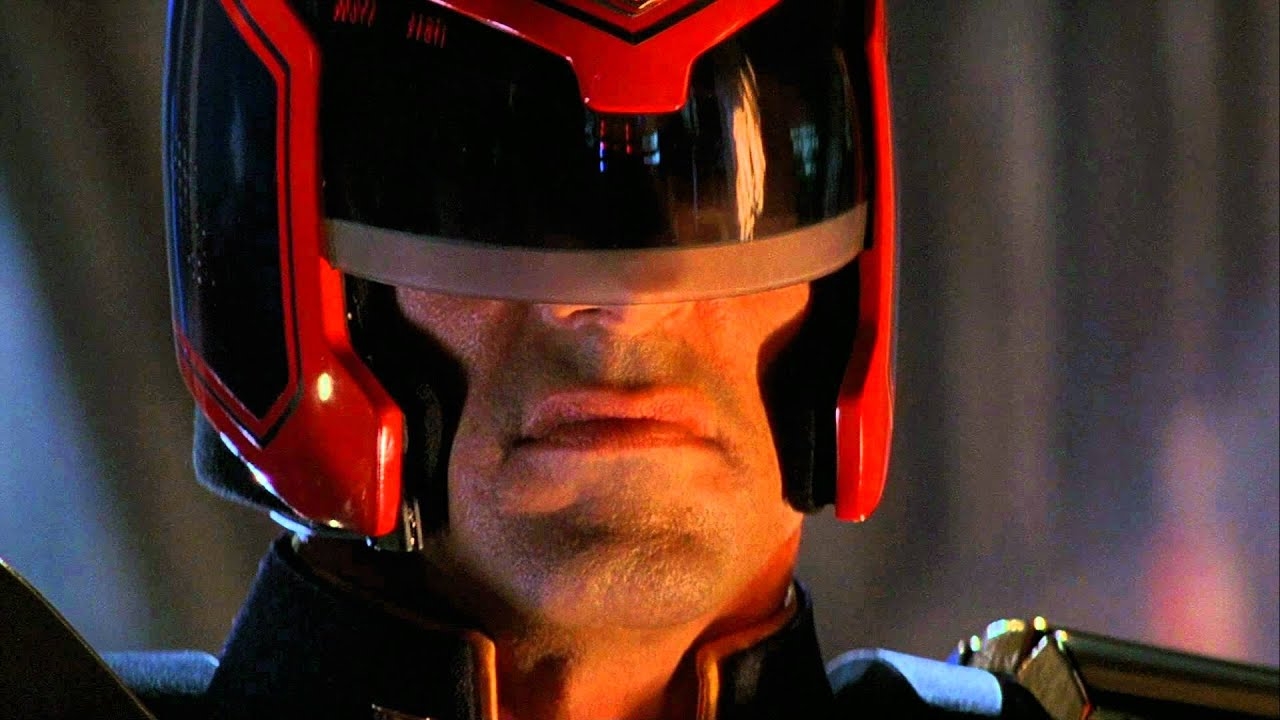 Sylvester Stallone played Dredd in the comic series' first movie adapation back in 1995.