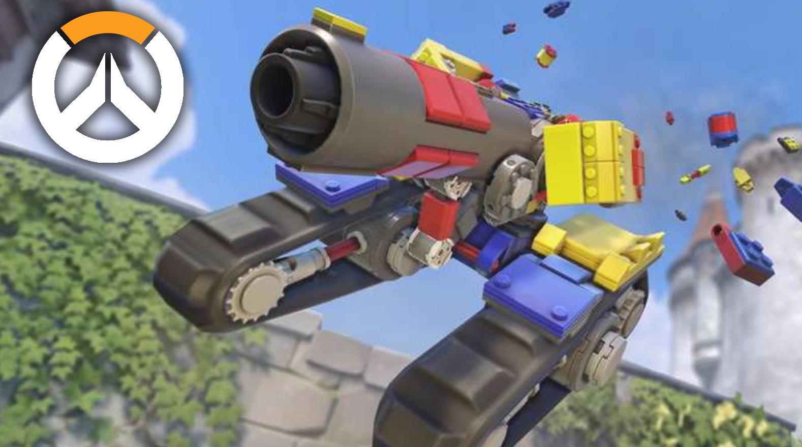 Overwatch LEGO Bastion