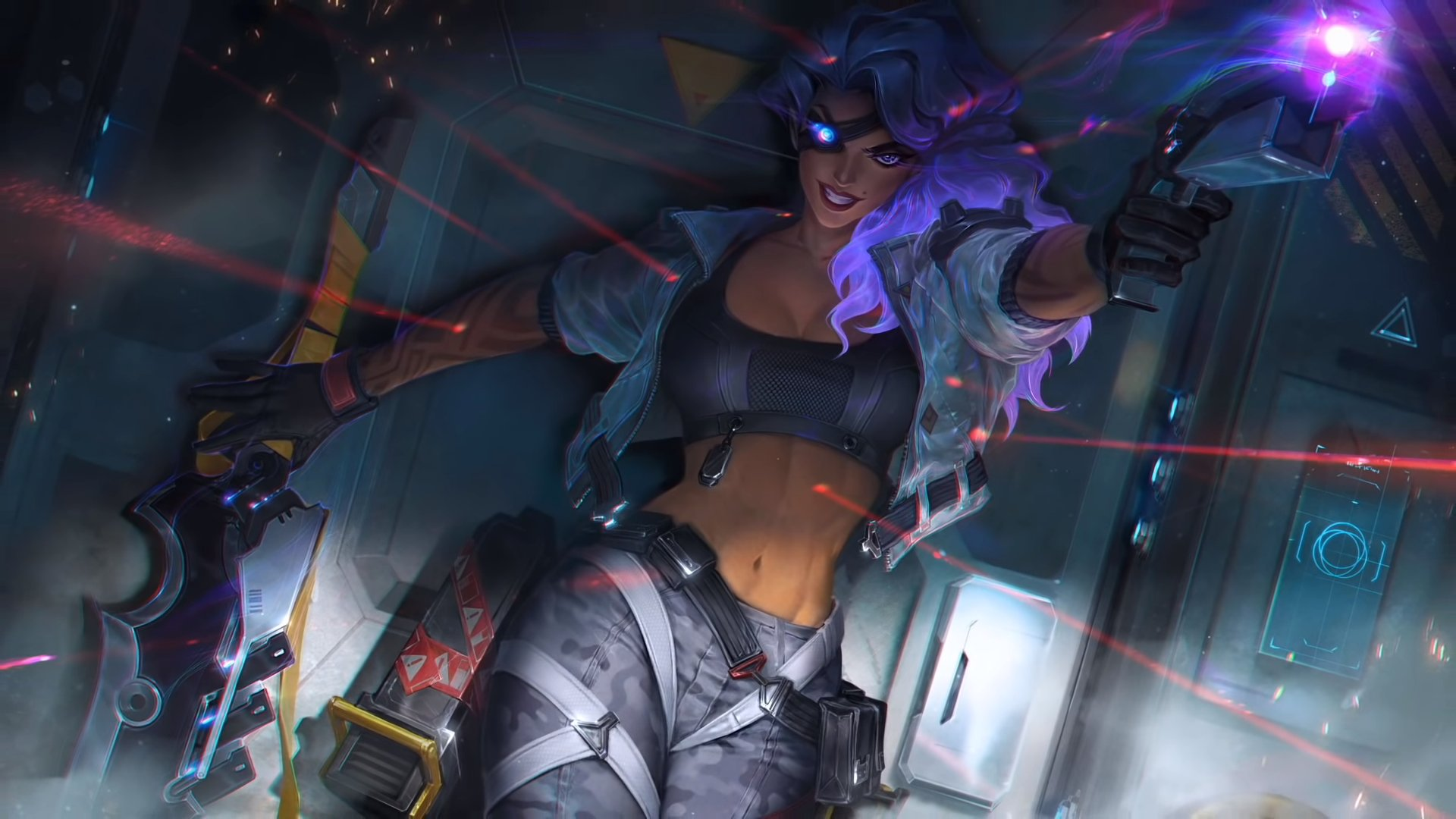 Samira will likely be released in LoL Patch 10.18, and get a PsyOps skin on release.