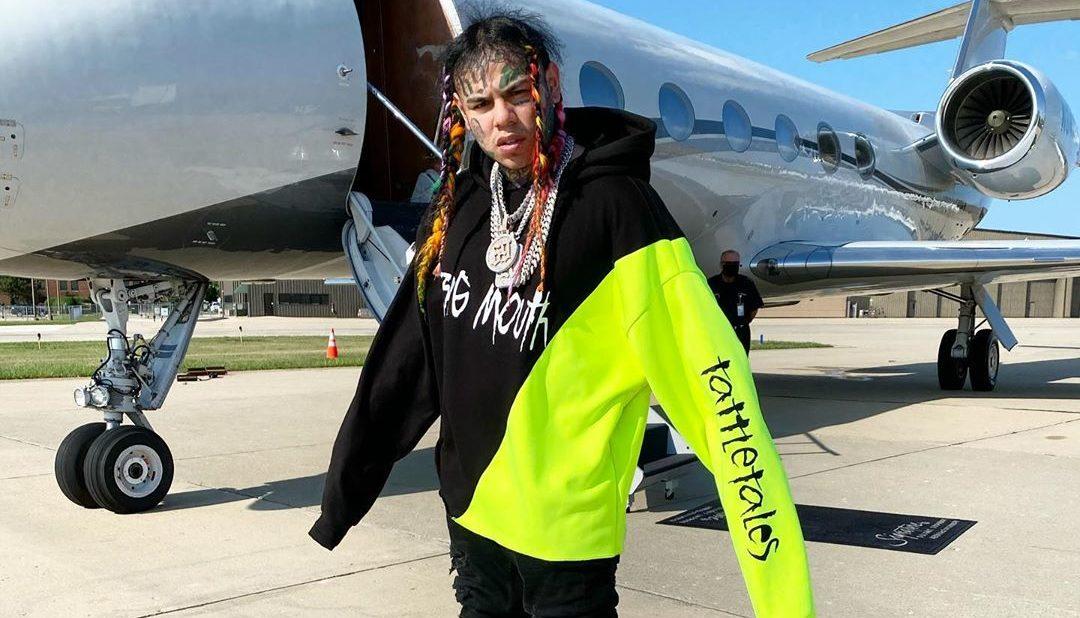 6ix9ine private jet