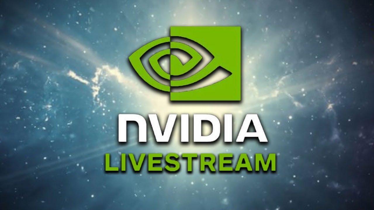 NVIDIA livestream reveal