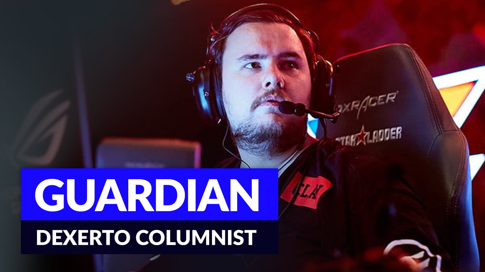 GuardiaN competing in CSGO.