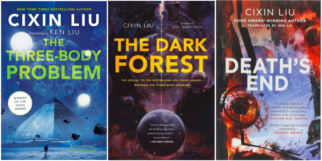 Remembrance of Earth's Past trilogy covers