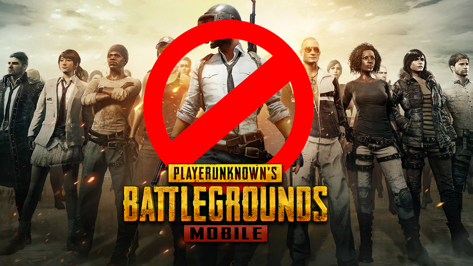 PUBG Mobile screen banned