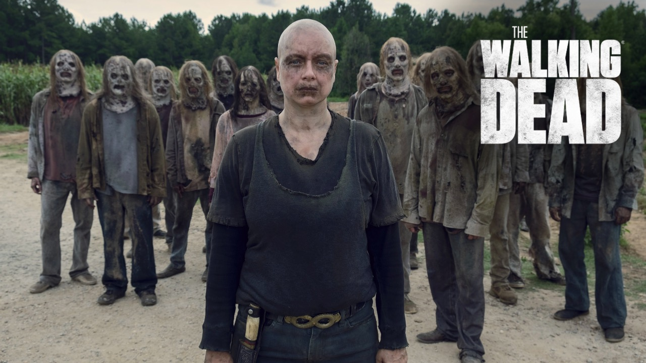 Alpha and The Whisperers in Walking Dead