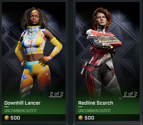 Scorch Lancer rogue company skins