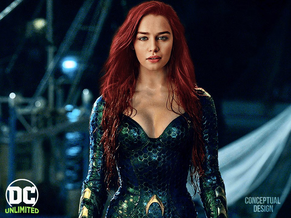 Many Aquaman fans have been tipping Emilia Clarke to replace Heard as Mera in the sequel.