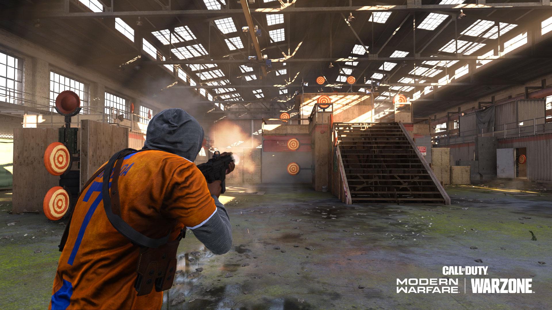 Warzone shooting range