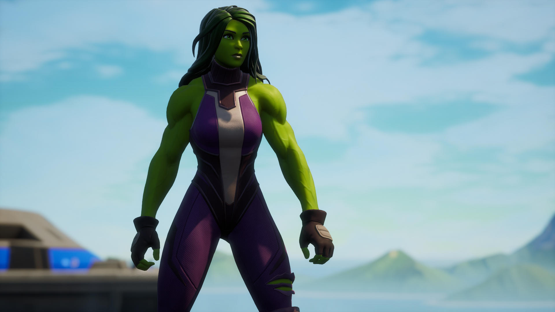 She Hulk Jennifer Walters in Fortnite