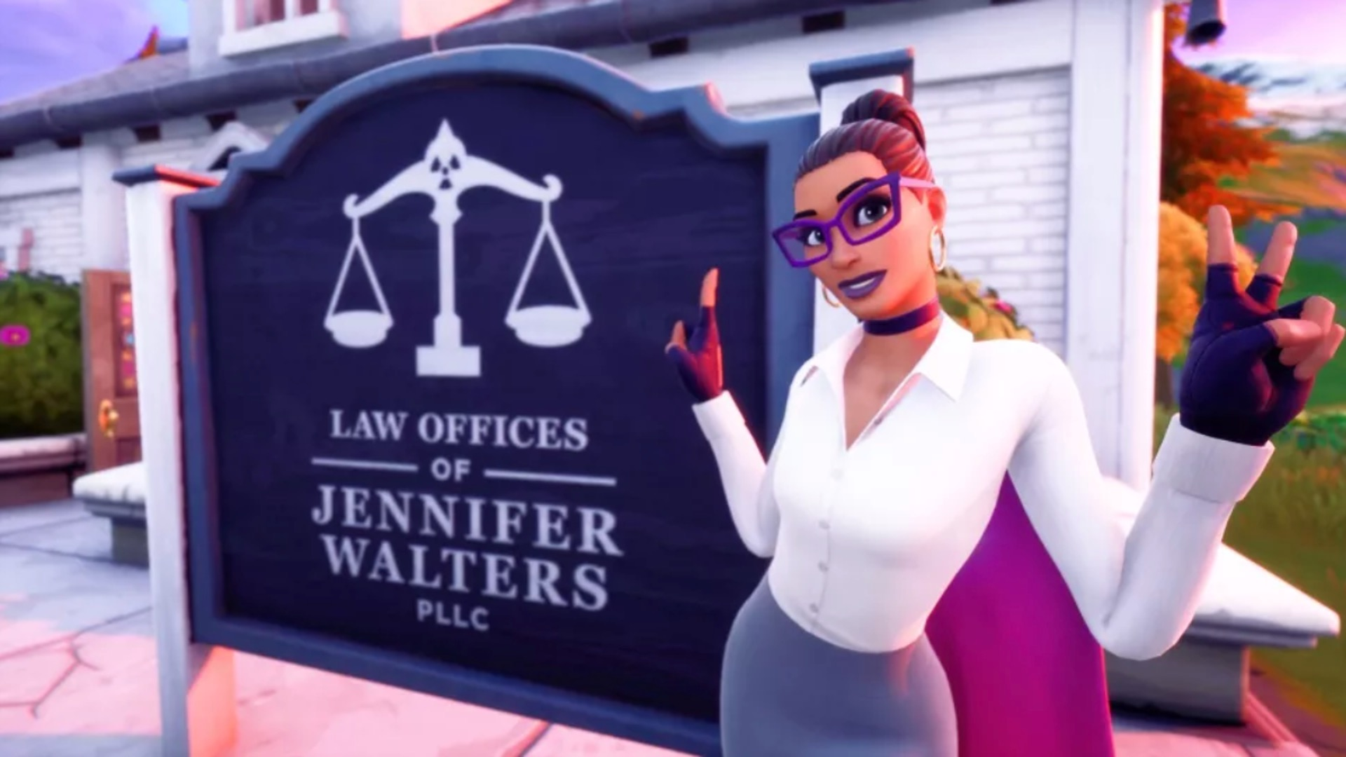 Fortnite Jennifer Walters office