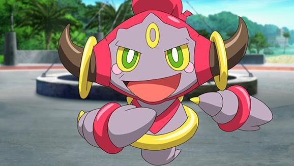 Hoopa in Pokemon anime