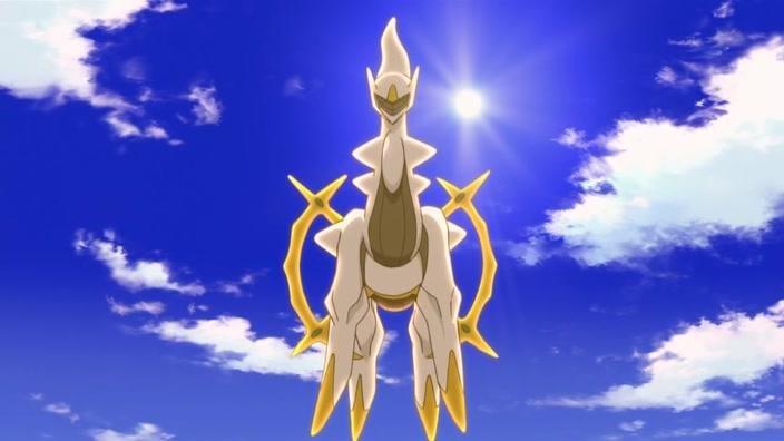 Arceus in Pokemon