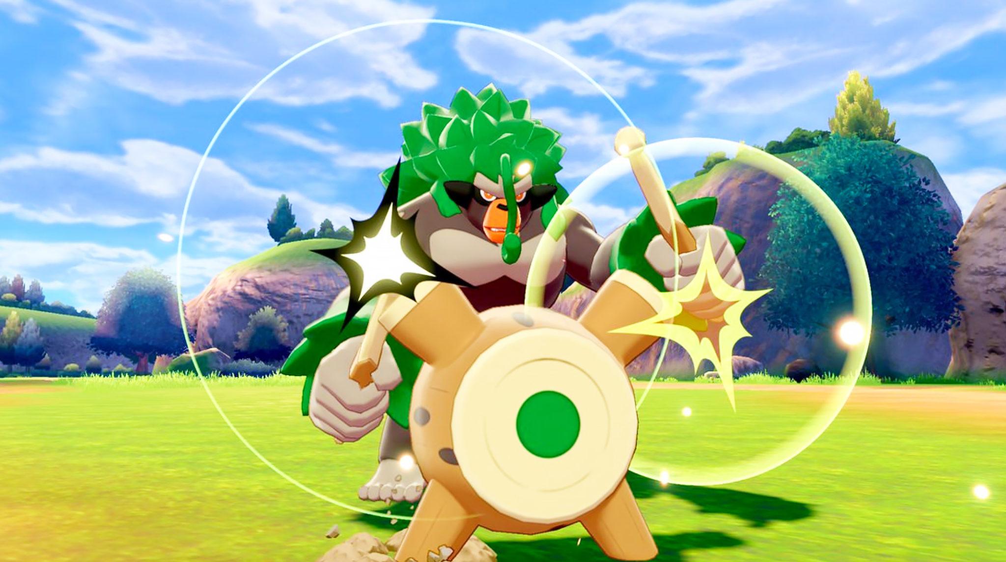 rillaboom pokemon sword shield