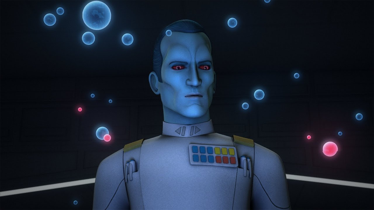 Zahn would love to see Thrawn head to the silver screen in the next few years.