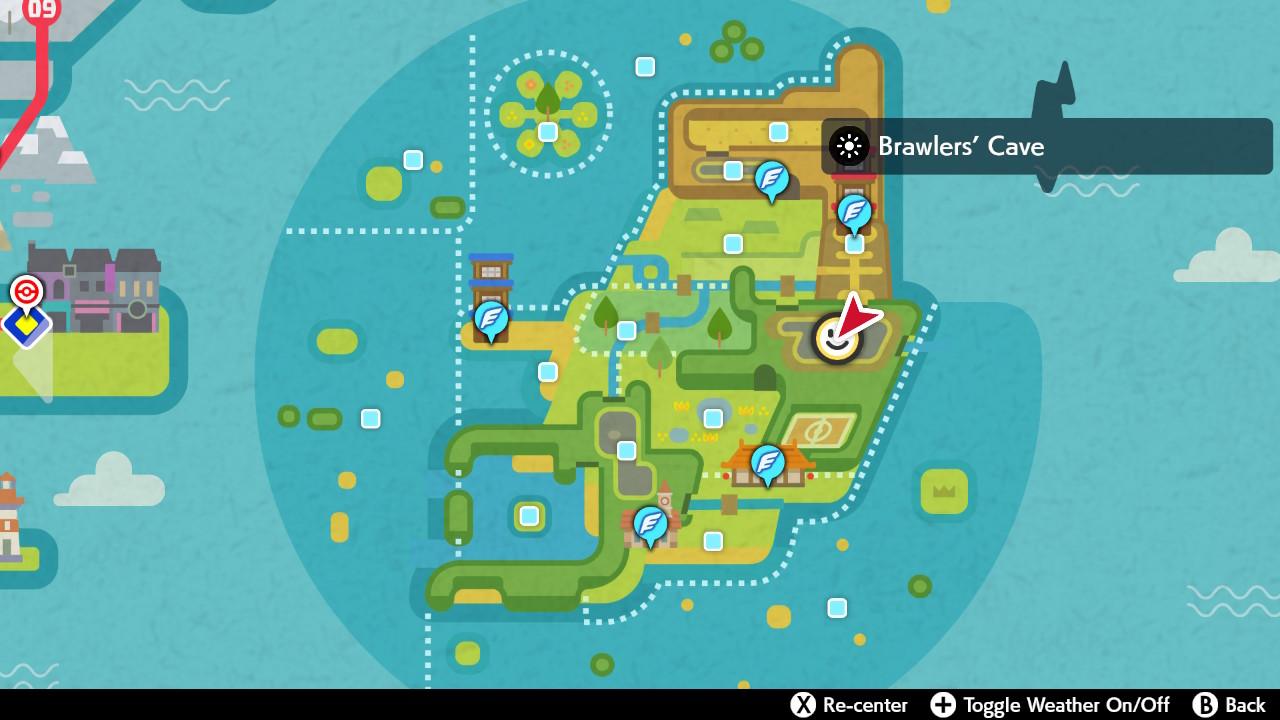 Druddigon map location