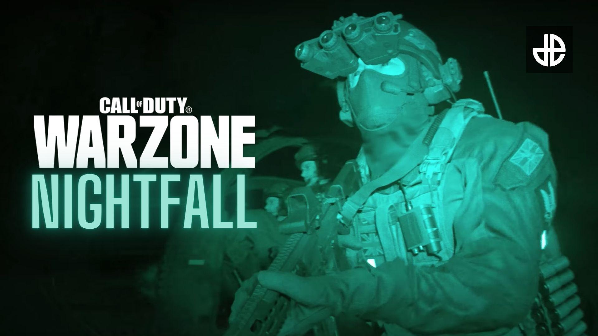 CoD Warzone Nightfall game mode