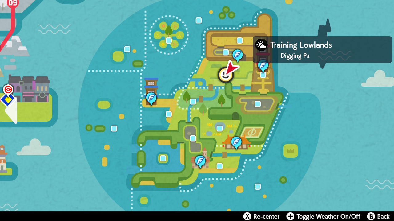 Kangaskhan map location