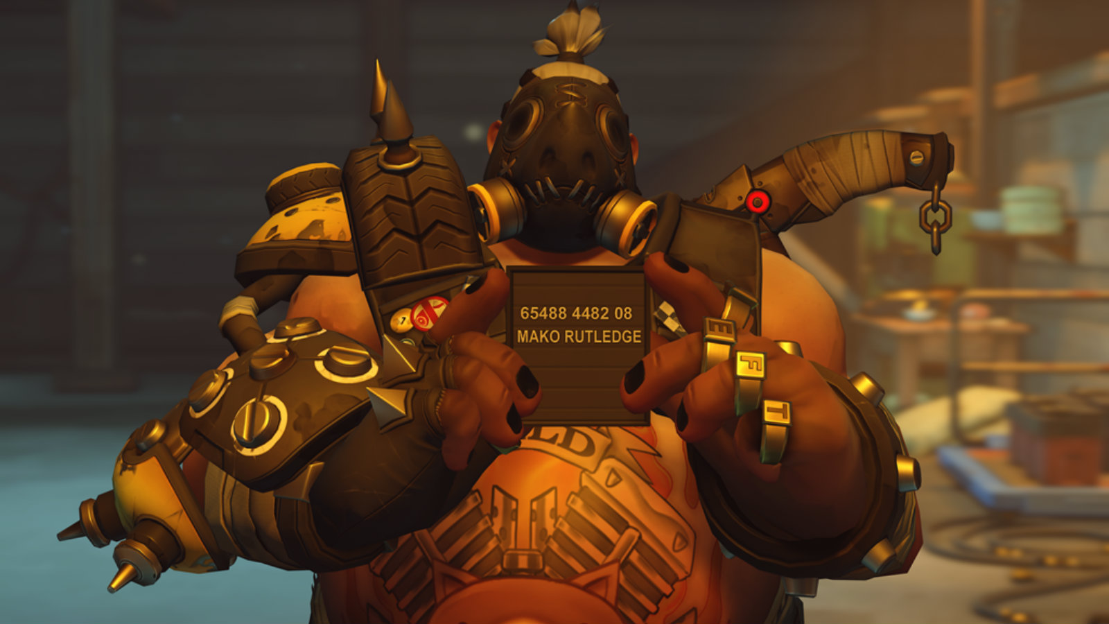 Roadhog has been nerfed