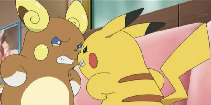 Alolan Raichu Pikachu