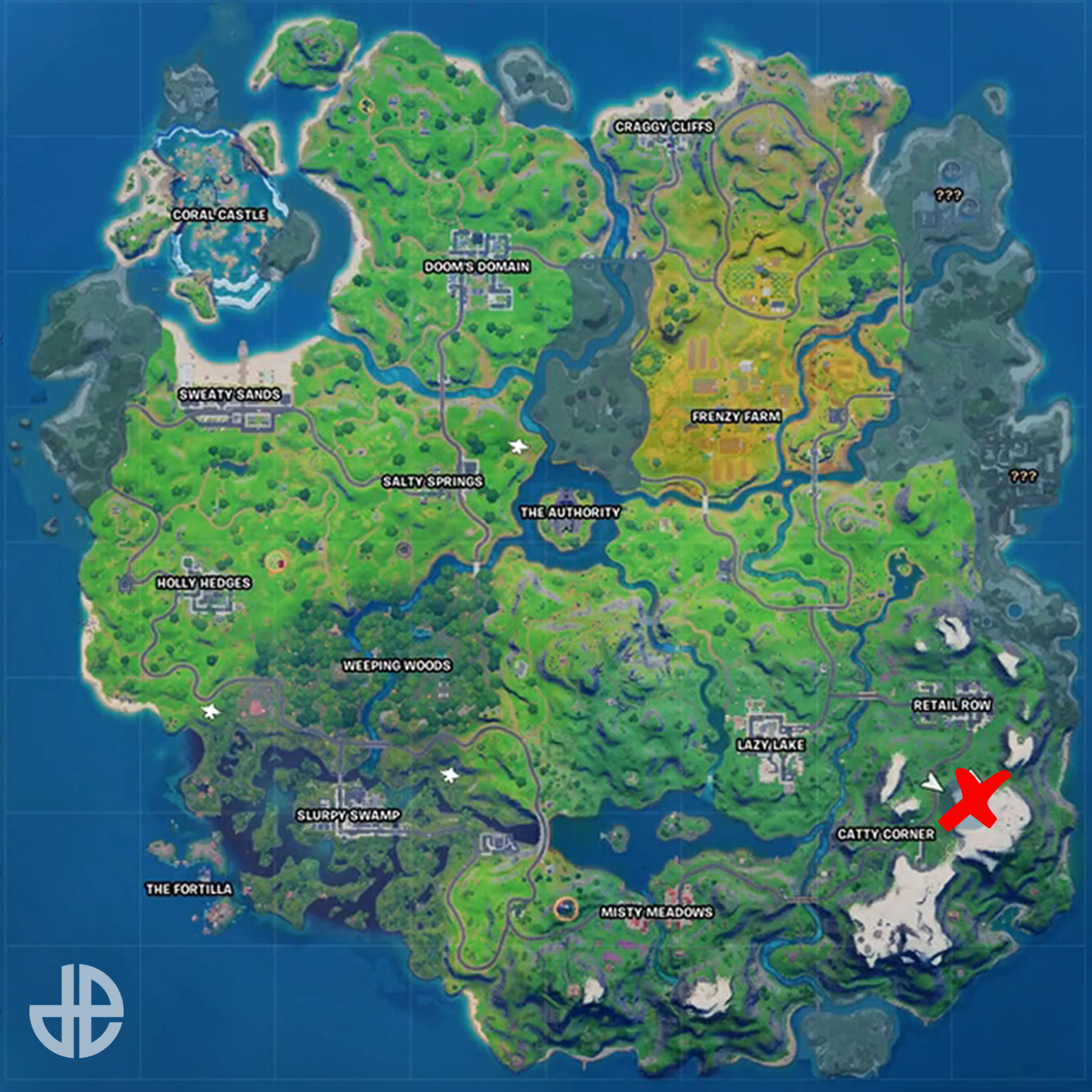 fortnite map season 4