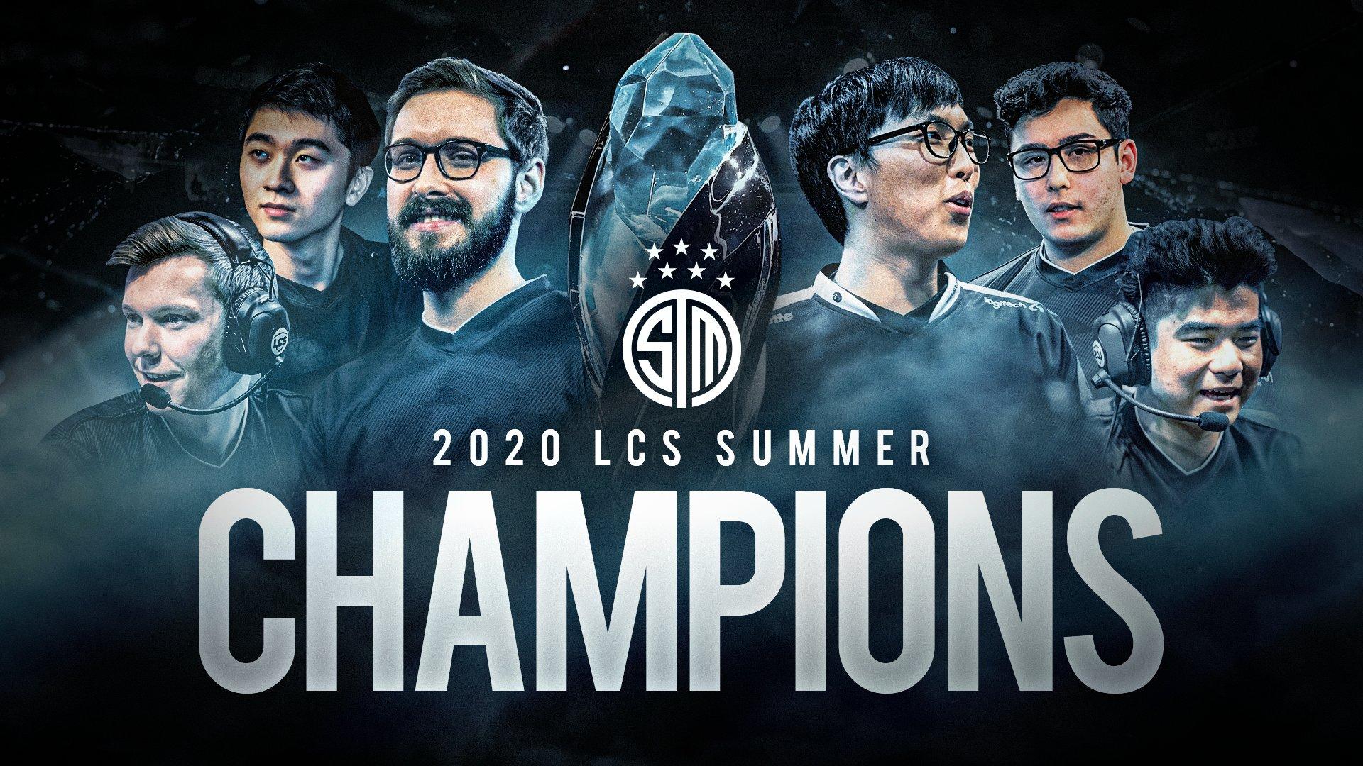 TSM wins LCS Summer 2020 banner