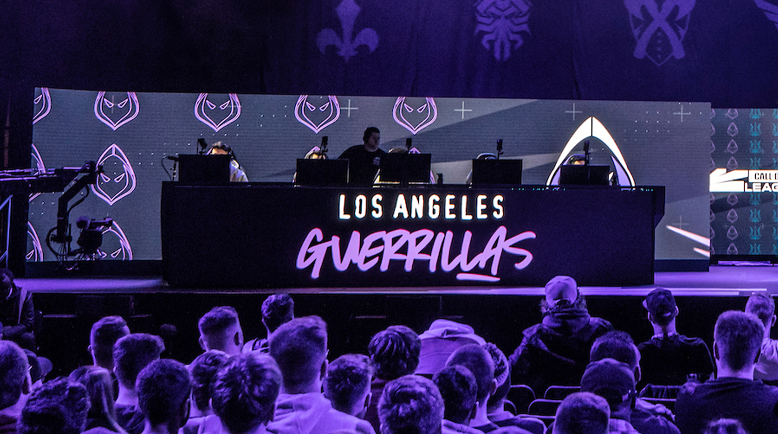 LA Guerrillas on stage