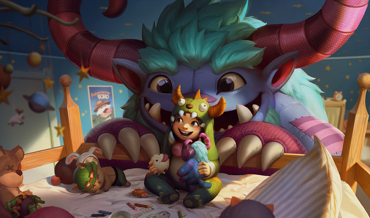 The Boy and his Yeti are set for a little love in the next League of Legends update.