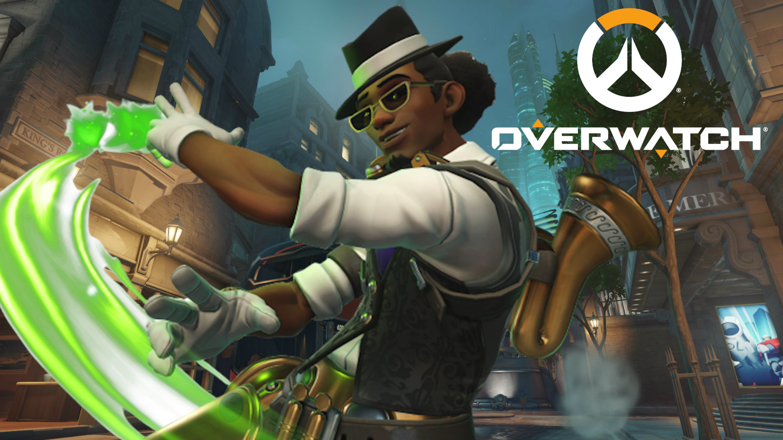 Jazzy Lucio on Kings Row in Overwatch