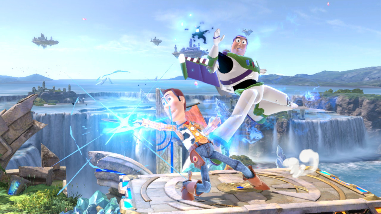Buzz Lighryear and Woody from Toy Story in Smash Ultimate