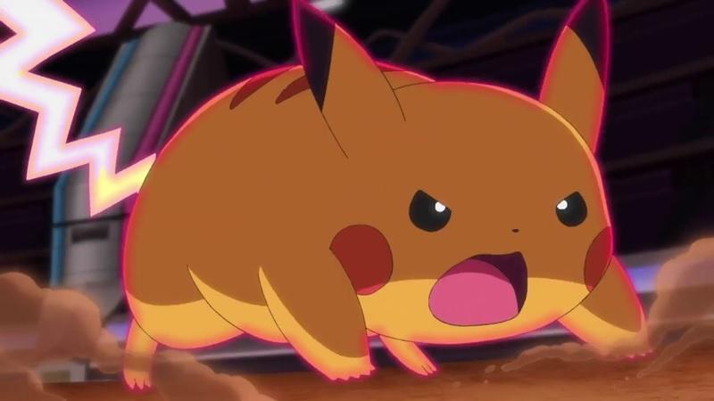 Ash's Gigantamax Pikachu