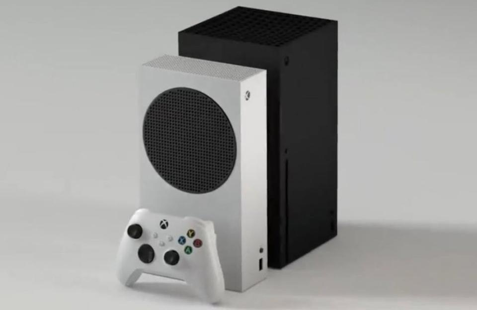 The Xbox Series S is half as big as Microsoft's flagship next-gen Xbox Series X console.