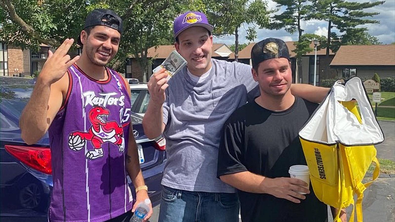 NELK Boys with fan